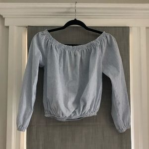 Brandy Melville Striped Blouse